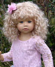 NWT Masterpiece Dolls RARE Cassi Blonde With GREEN Eyes By Monika Levenig