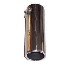 55-65 mm Coche Punta de Escape Tubo De Escape Recortar Silenciador Tubo De Escape Cubierta De Acero Inoxidable