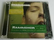 RAMMSTEIN - LINKS 2-3-4 / 8. TRACK AUDIO DVD + *PORTUGUESE HYPE STICKER*