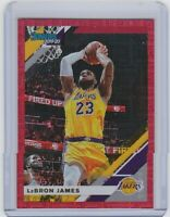 2019-20 Donruss - LeBRON JAMES - RED INFINITE Parallel - #d/99 - LAKERS / READ!!