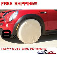 8 Eight Tire Rim Wheel Trailer Covers Boat Travel Rv Watercraft Pwc Camper Truck