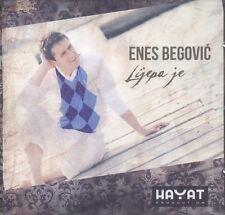 ENES BEGOVIC Cd Lijepa je 2011 Bosna Srbija Bosnien Kroatien Balkan Narodna Folk