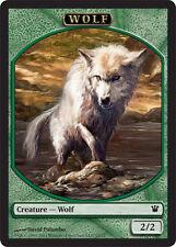 4x TOKEN Lupo 2/2 - Wolf 2/2 MTG MAGIC Innistrad Ita