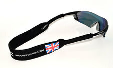 Wrapz UK GB GREAT BRITAIN Floating Neoprene Sunglasses Strap  STRAP ONLY