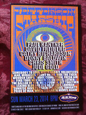 Jefferson Starship and Carl Palmer Elp ad/flyer B.B. King club 2014 Paul Kanter