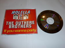 MOLELLA Featuring THE OUTHERE BROTHERS - If You Wanna Party - Deleted 1995 UK CD