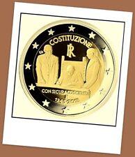 2 Euro Gedenkmünze Italien 2018 - 70. Jahrestag italienischen Verfassung - VVK