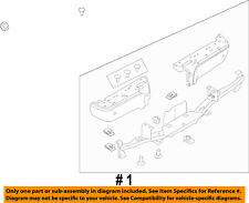 FORD OEM 08-16 F-350 Super Duty Rear-Bumper 9C3Z17906D