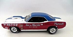 1/18 Hwy 61 Sox & Martin 2010 Super Street CUDA American Muscle Car NO BOX