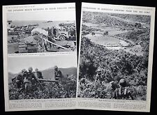 JAPANESE ADVANCE ON JIUJIANG SECOND SINO-JAPANESE WAR CHINA PHOTO ARTICLE 1938