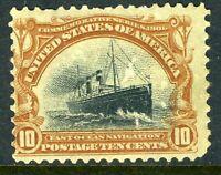 USA 1901 Pan American Expo 10¢ Ship Scott #299 Mint P131