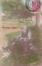 * CANADA - Ottawa - Man, En pique-nique 1908 to Tivoli Rome