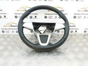 SEAT IBIZA 2012 Mk4 (6J) 3 Spoke Steering Wheel 6J0419091M