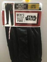 STAR WARS™ Men's Large 36-38 Join The Dark Side Jersey Lounge Sleep Pants NEW