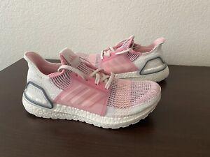 (NEW) ADIDAS UltraBOOST 19 Women's Shoes - Size 10 'True Pink'  ( ef6517 )