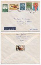 1980 TURKEY Air Mail Cover EDREMIT to KARUP DENMARK