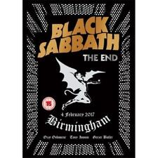 Black Sabbath The End DVD All Regions NTSC NEW