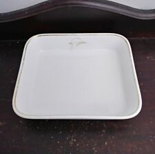 Canadian Pacific Airlines Vintage Noritake Japan White China Serving Dish