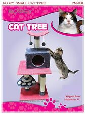 Christmas Gift Tree 4 Cat Scratching Poles Post Kitten House 90cm Rosey Cat Toy