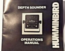 HUMMINBIRD DEPTH SOUNDER OPERATION MANUAL, SUPER THIRTY II, SUPER THIRTY IN DASH