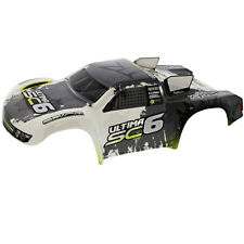 Kyosho 1/10 Ultima SC6 2WD ReadySet * BLACK WHITE & GREEN BODY * Lid Cover Shell