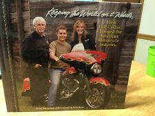 KEEPING THE WORLD ON 2 WHEELS J&P CYCLES HARD COVER BOOK