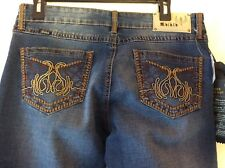Adikted Womens NWT Jeans size 8  Waist 30. Inseam 32. Mid rise Boot Cut.