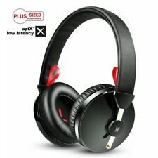Bluetooth Headphones Wireless Headset For Gaming TV PC Mic Deep Bass Low Latency