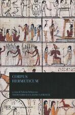 LIBRO CORPUS HERMETICUM - TESTO GRECO E LATINO A FRONTE - VALERIA SCHIAVONE