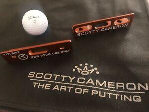 2020 Scotty Cameron Putting Path Tool ORANGE Limited Edition