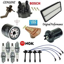 Tune Up Kit Filters Cap Rotor Spark Plugs Wire for Toyota Mr2 2.2L 1992-1995