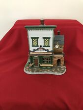 Department 56 New England Village (Wm Walton fine clocks & pocket pieces)
