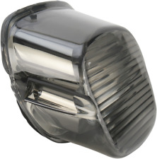 Drag Specialties Laydown Taillight Lens with No Tag Window - Smoke 2010-0779