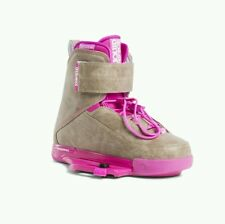 2016 Liquidforce Melissa pink closed toe Wakeboard Bindings boots uk 3.5-5.5 NEW