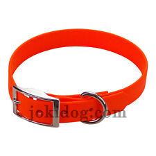 Collier biothane beta 19 mm x 45 cm Orange - jokidog