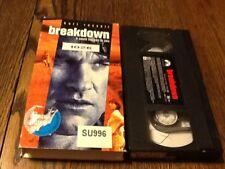 Breakdown (VHS, 1997) USED DRAMA THRILLER KURT RUSELL FREE USA SHIPPING