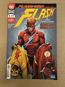 FLASH ANNUAL #1 FIRST PRINT DC COMICS (2018) WALLY WEST FLASH WAR PRELUDE