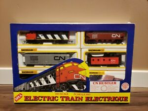 Bachmann CN Diesel Huster Electric Train Set HO Scale with box