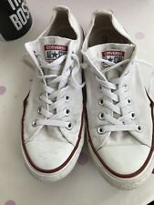 Converse M7652C Chuck Taylor All Star Shoes Trainers UK 8 - White