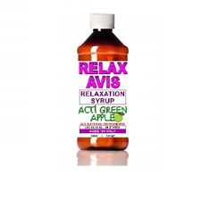 Apple Green 2 ounce Relaxavis Nutritional Relaxation Syrup