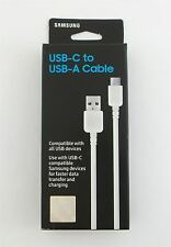 Samsung 3.3 ft USB Type-C to USB Type-A Cable White EP-DN930CWEGUS