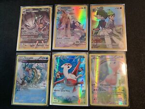 Pokemon Full Art Holos XY Cosmic Eclipse Mew Gyarados Ancient Origins Promo SR
