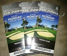 1 used US OPEN GOLF BADGE 6/20/16 trophy club oakmont country club