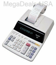 Sharp El1197p 2-color Desktop Printing Calculator With Extra Large Display !
