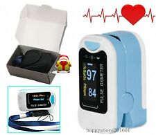 Fingertip Blood Pulse Oximeter Oxygen Saturation Finger Insert Blood Pressure O2