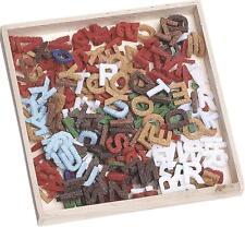 Fieltro formas del alfabeto 10mm Paquete de 250 Letras. Colores Surtidos
