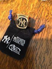 1999 New York Yankees Baseball SGA World Series Commemorative Replica Ring