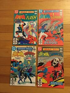 Brave and the Bold #192 #193 #194 #195 Batman and Superman DC Comics 1982 S