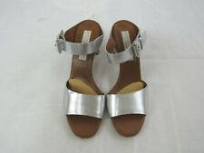 Stella McCartney Vegan Leather Metallic Slip on Sandal Size 38.5 (US 8.5)