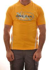 Dare 2b Hombre Koa Casual Manga Corta Camiseta de Algodón Amarillo DMS300 B7